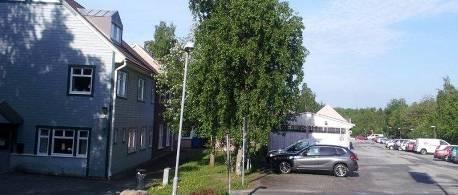 Vyn på entrén till Distriktstandvården Bollstanäs