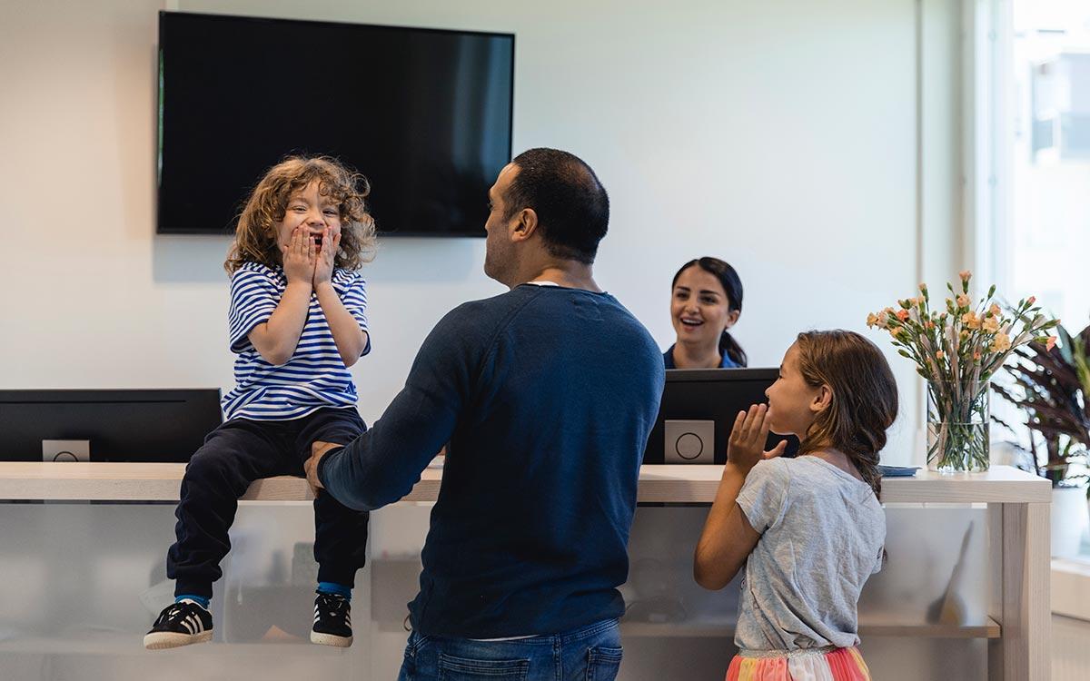 Listning och kallelser för barn