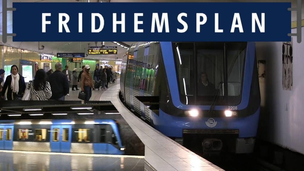 Tunnelbanan nära Distriktstandvården, din nya tandläkare vid Fridhemsplan.