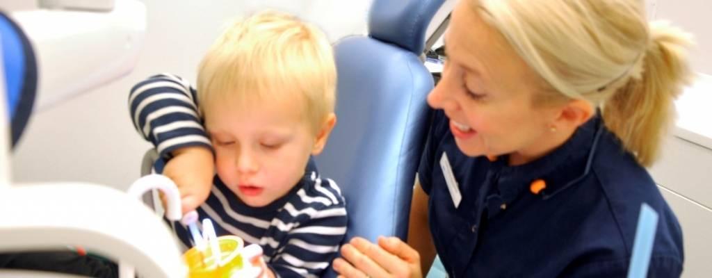 Barnets första tandläkarbesök